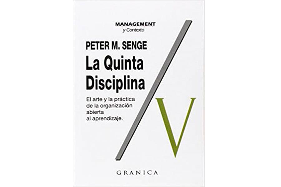Libro La Quinta disciplina de Peter M. Senge