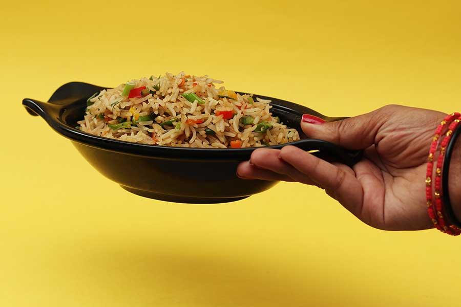 arroz integral para buena alimentación
